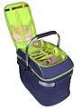 foldable picnic basket cooler bag for car