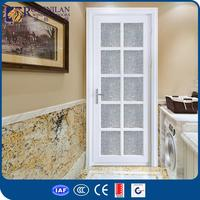 ROGENILAN 45# AS2047 CE custom high-end fan lite entry door entry door with side lite