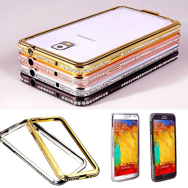 Luxury Diamond Metal Aluminum Bumper Case Cover For Samsung Galaxy S3 i9300