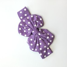 Wholesale Baby Girl Cotton Headband Bow Hairband Infant Boutique Kids Headband