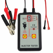Digital Automotive Fuel Pressure Injection Pump Injector Tester 12V Car Vehicle Diagnostic Tool 4 Modes