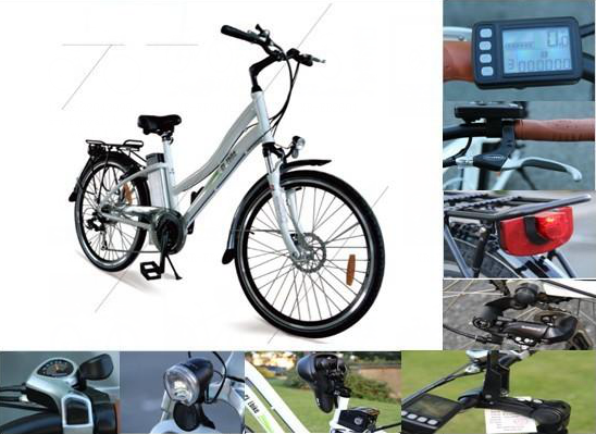 26 inch high speed aluminium alloy e-bike/electric bicycle