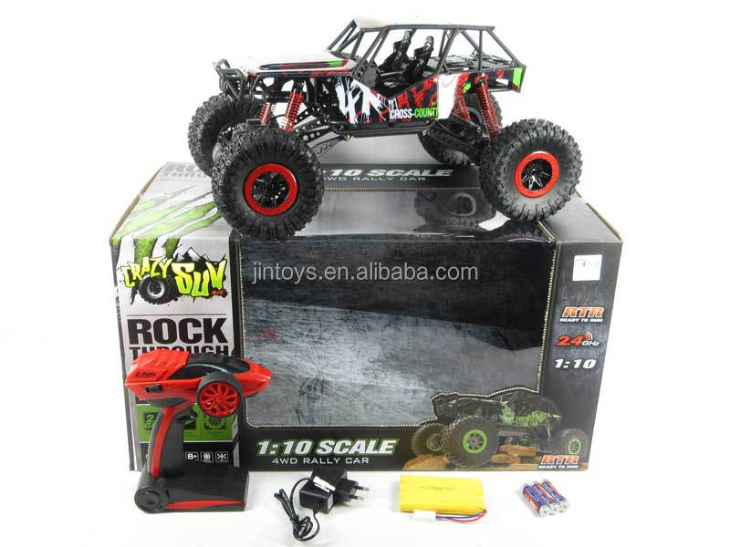 2.4G 1:10 R/C racing off-road car cross-country truck 4WD rock climbing car