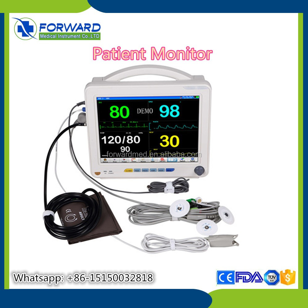 hot sale hospital ICU bedside cardiac monitor/patient monitor price