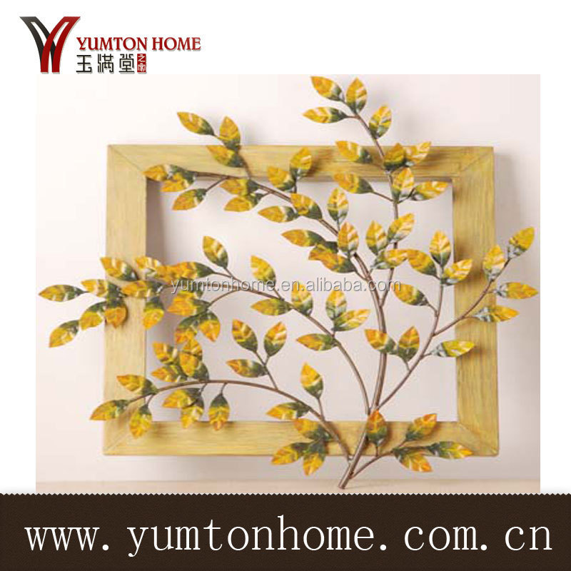 Craft Supplier porcelain home decorative metal tree