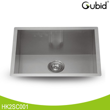 OEM 23 Inch 1.5mm thickness stainless steel bowl sink undermount