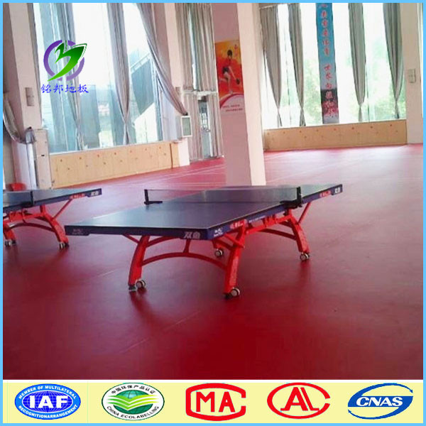 Waterproof flooring/table tennis court floor mat