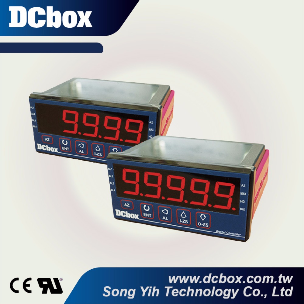 Multiple inputs 4 digital / 5 digital panel meter