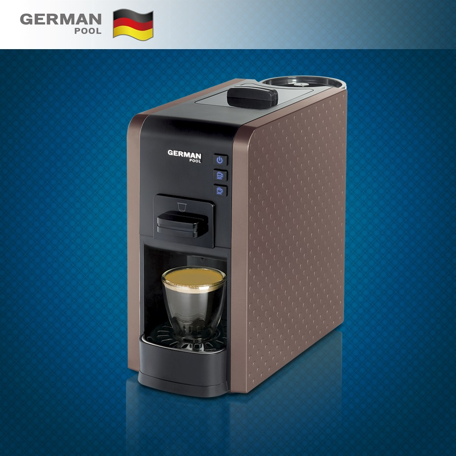 German Pool Manufacturer High Quality 1,100W Nespresso Large Capacity coffee machine maker for Pantry
