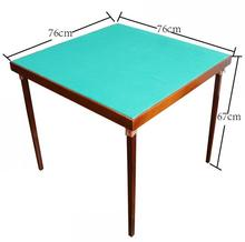 Regular size wooden mahjong table sale, folding playing card table, game table