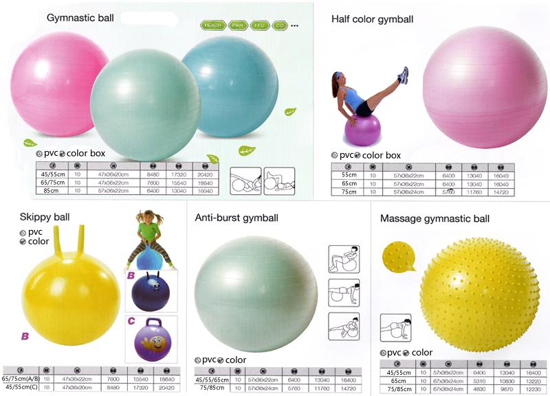 yoga ball details