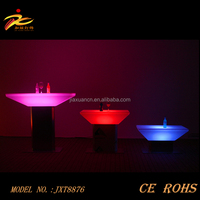 CE&ROHS approved square rechargeable led multi color furniture/led table/led furniture led table led chairs