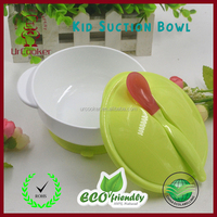 Professional easy to wash non-toxic food grade plastic Multifunctional Baby bowl