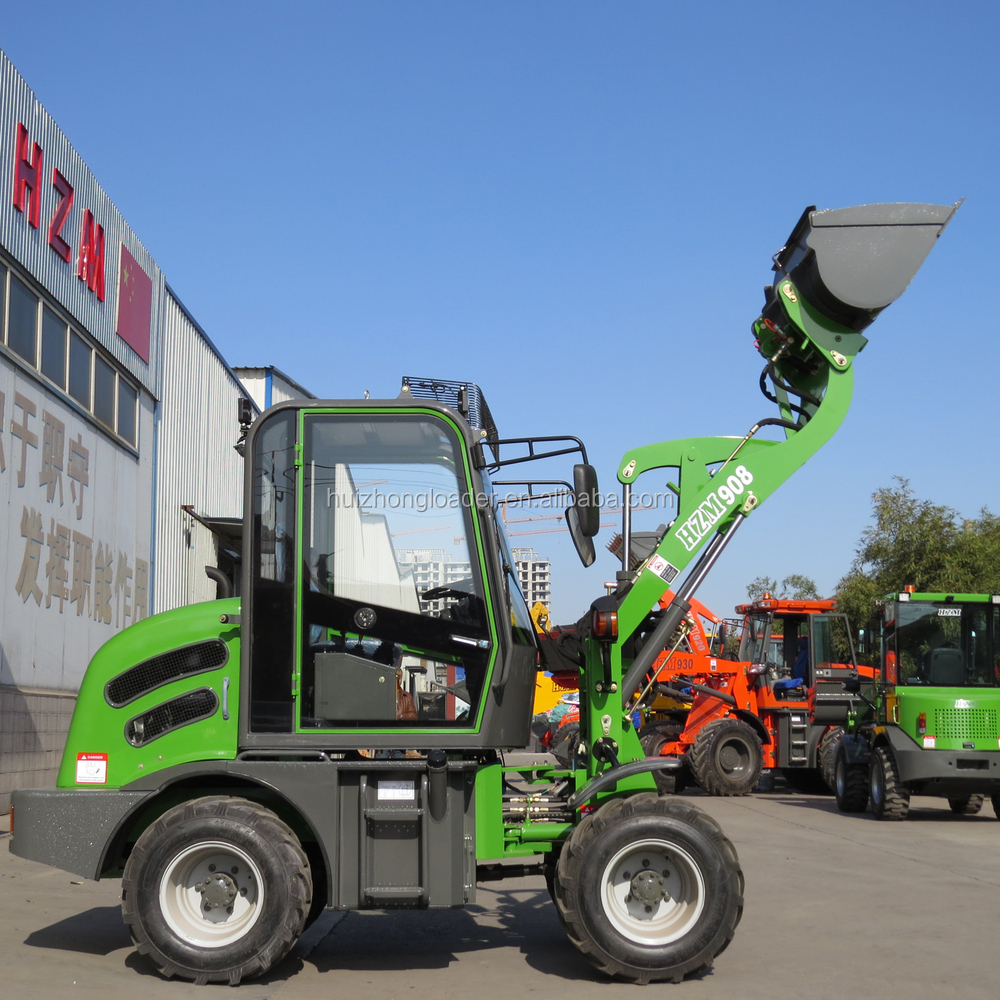 800kg Small Compact Hzm 908 Wheel Loader With Ce Buy