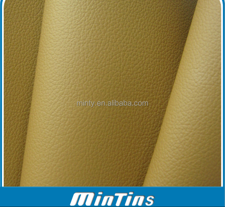 pvc sponge leather for car seat vehicle chair automotive interior OEM