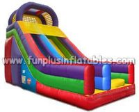 HOT !! TOP quality inflatable slide for kids F4002