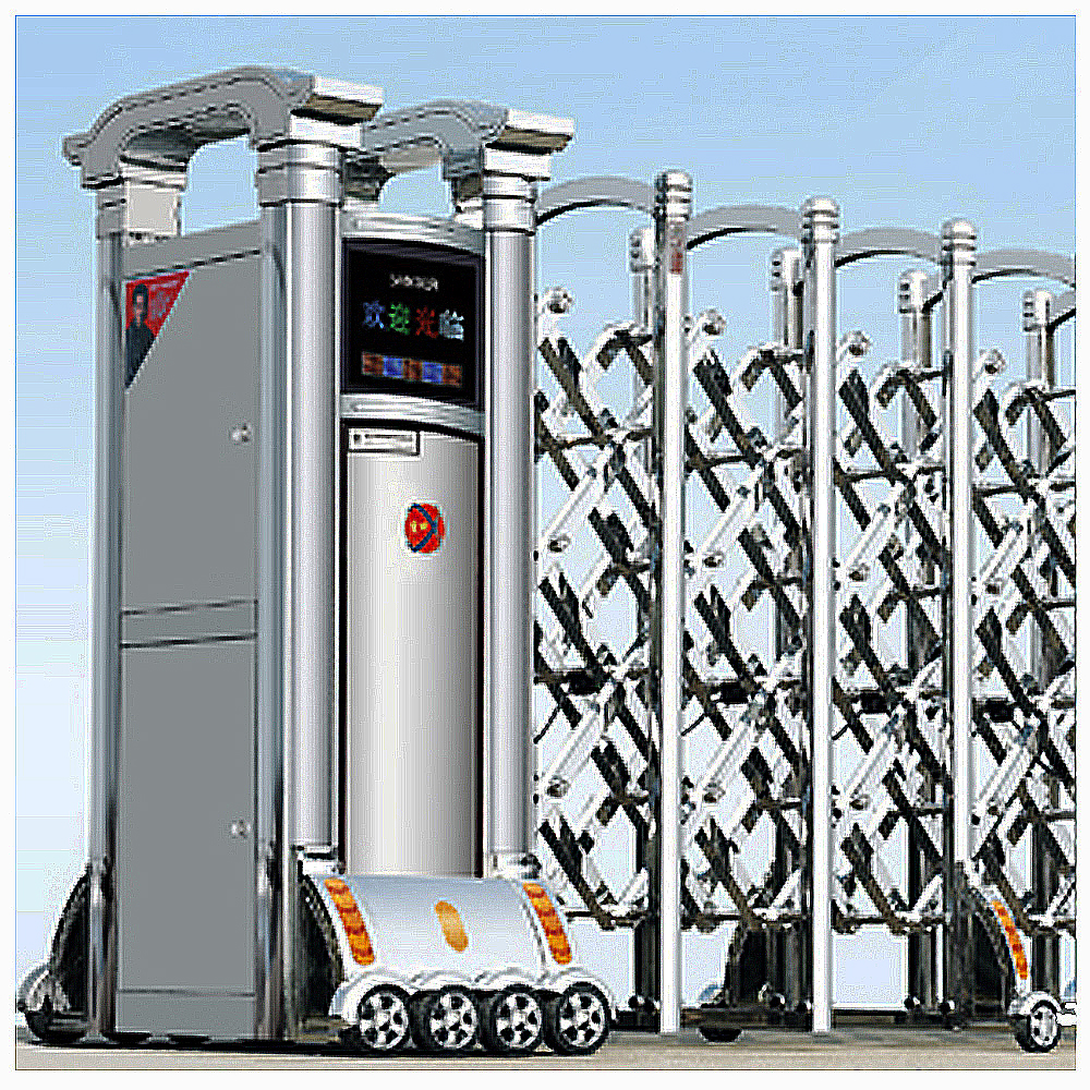 steel retractable front gate designs Automatic retractable gate