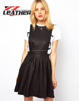 New Fashion Garments Casual Dress For Sexy Women,Women Beach Wear leather Dress British Style Wholesale Cheap Dresses
