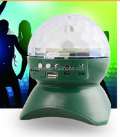 factory price disco light bluetooth speaker pocket fm radio with bluetooth