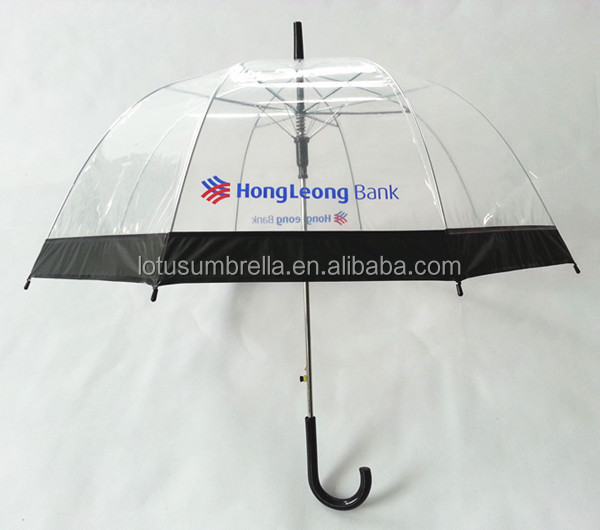 POE Transparent  umbrella
