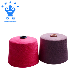 High quality colored cotton yarn for knitting glove