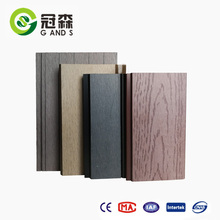 2018 WPC wall cladding sunlight resistant waterproof outer wall panel wood plastic composite board