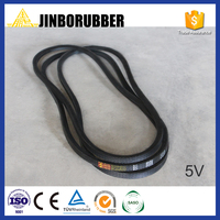 China factory rubber v belt for machines classical, narrow and banded type triangle belt