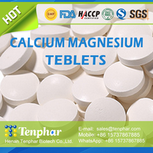 Building Bone Health Private Label Calcium And Magnesium Supplement Tablets