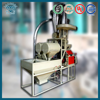 Home based production machine, wheat bread flour making machine