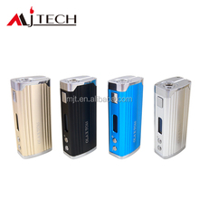 Christmas Gift!e cig temperature control 65w box mod support 0.15ohm zinc alloy and aluminum alloy build-in 2 batteries