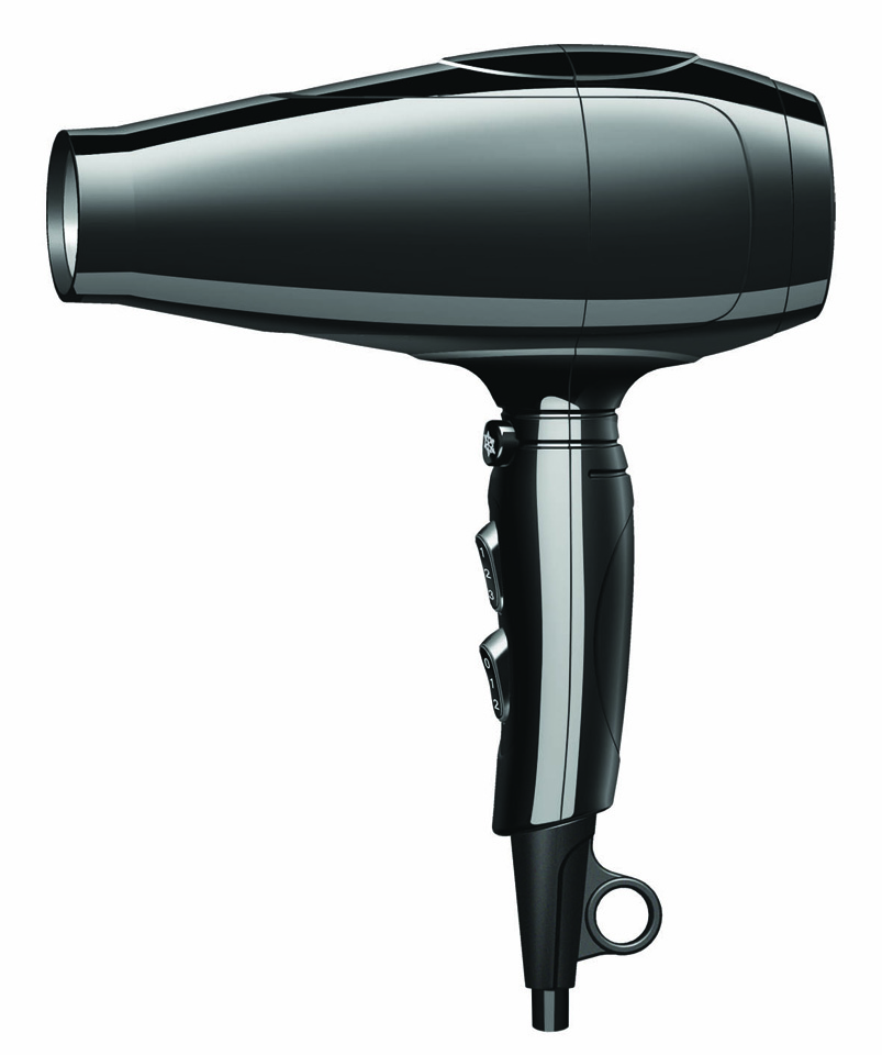Professional Cold Air Hair Dryer with Ionic Function