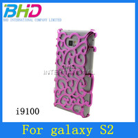 Palace flower chrome for samsung galaxy s2 i9100 back case
