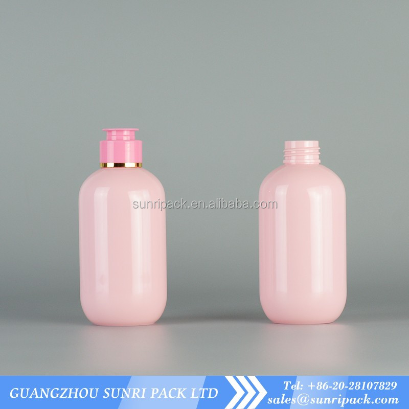Popular hotel show gel plastic bottle with flip top cap