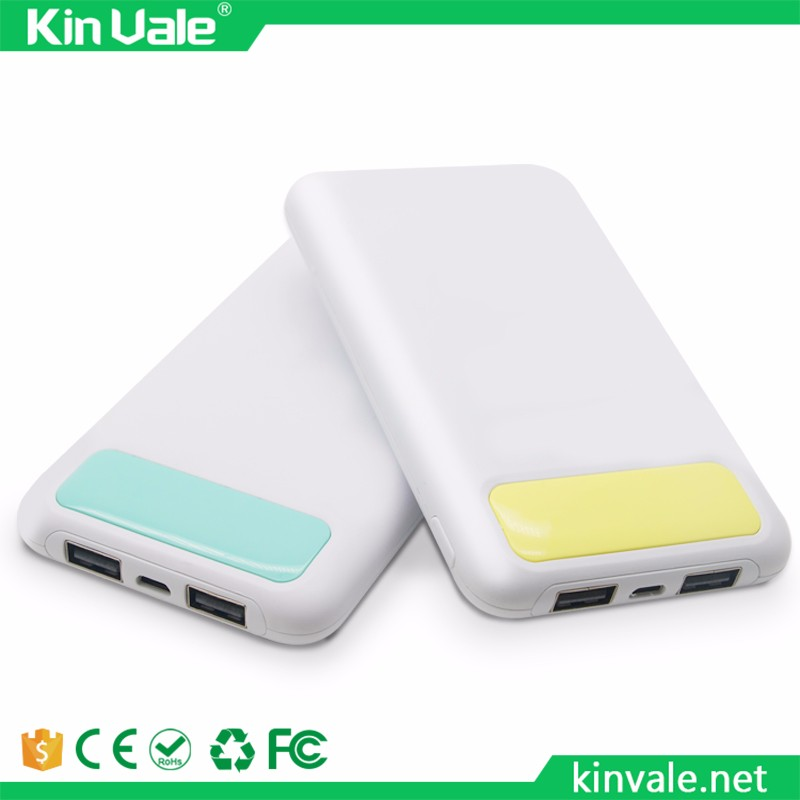 Kinvale emergency charging high quality portable mobile mini usb 2800mah battery charger power bank