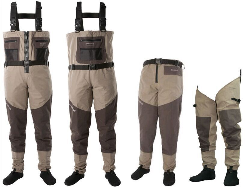 Stocking Neoprene /PVC /Rubber breathable waders with waist belt