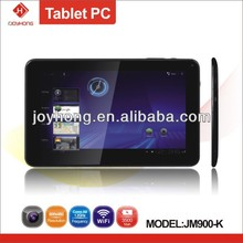 9 inch tablet pc with allwinner A13 cpu andrid 4.0 1.2ghz tablet pc