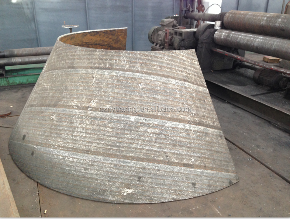 abrasion resistance wear steel plate for Coal mill classifier cones