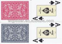 Hand made poker cards gloss finish laminated with logo