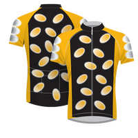 Quick Dry Custom Men's Team Cycling Jersey