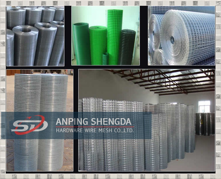 Stainless steel Welded mesh panel, welded wire mesh factory