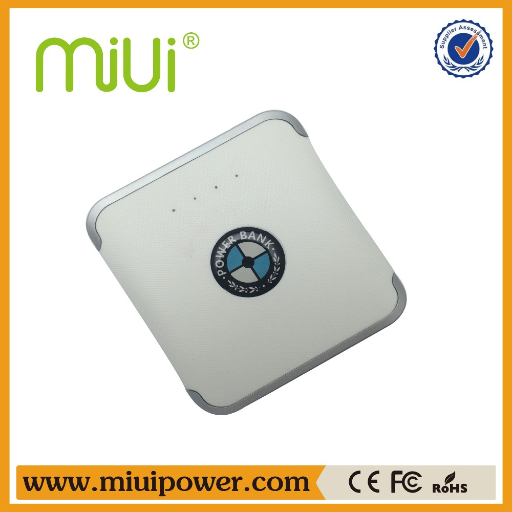 Shenzhen Pilot's Miui brand 12000mah bank power