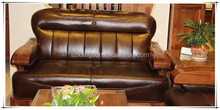 top quality latest leather sofa design
