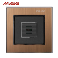 Sensor Control Wall Switch LMN New Arrival Gold Satin Metal Light Voice Sound Sensor Control Light Wall Switch