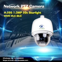 New arrival Colable COL-SV31353WU-X20 H.265 1.3MP 20x Optical Zoom Starlight Night Vision Pan Tilt Zoom 960p starlight camera