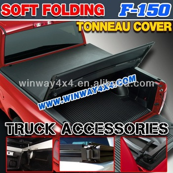 2004+ F-150 SOFT FOLDING TONNEAU COVER
