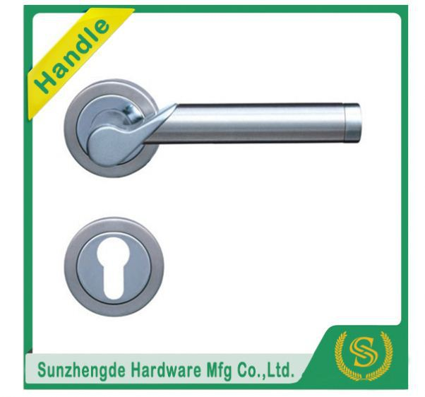 SZD SLH-064SS Hot Selling Rubber Chrome Door Handle Escutcheon Bowl Cover