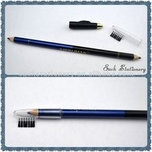 "7""permanent double side color brush top eyebrow pencil"