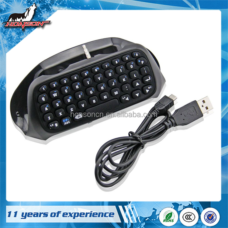 Top Quality Gaming Bluetooth Mini Keyboard Keypad For PS4 Controller