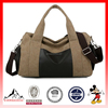 Mens Vintage Canvas Leather Travel Bag Tote Handbag Travel Crossbody Gym Bag (ESX-LB115)