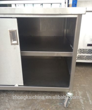 SS Kitchen the newest low moq stainless steel outdoor kitchen cabinets with price